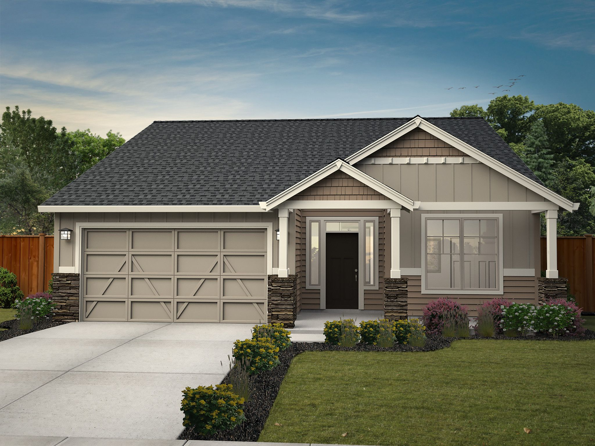 Exterior featured in the Baker By New Tradition Homes in Yakima, WA