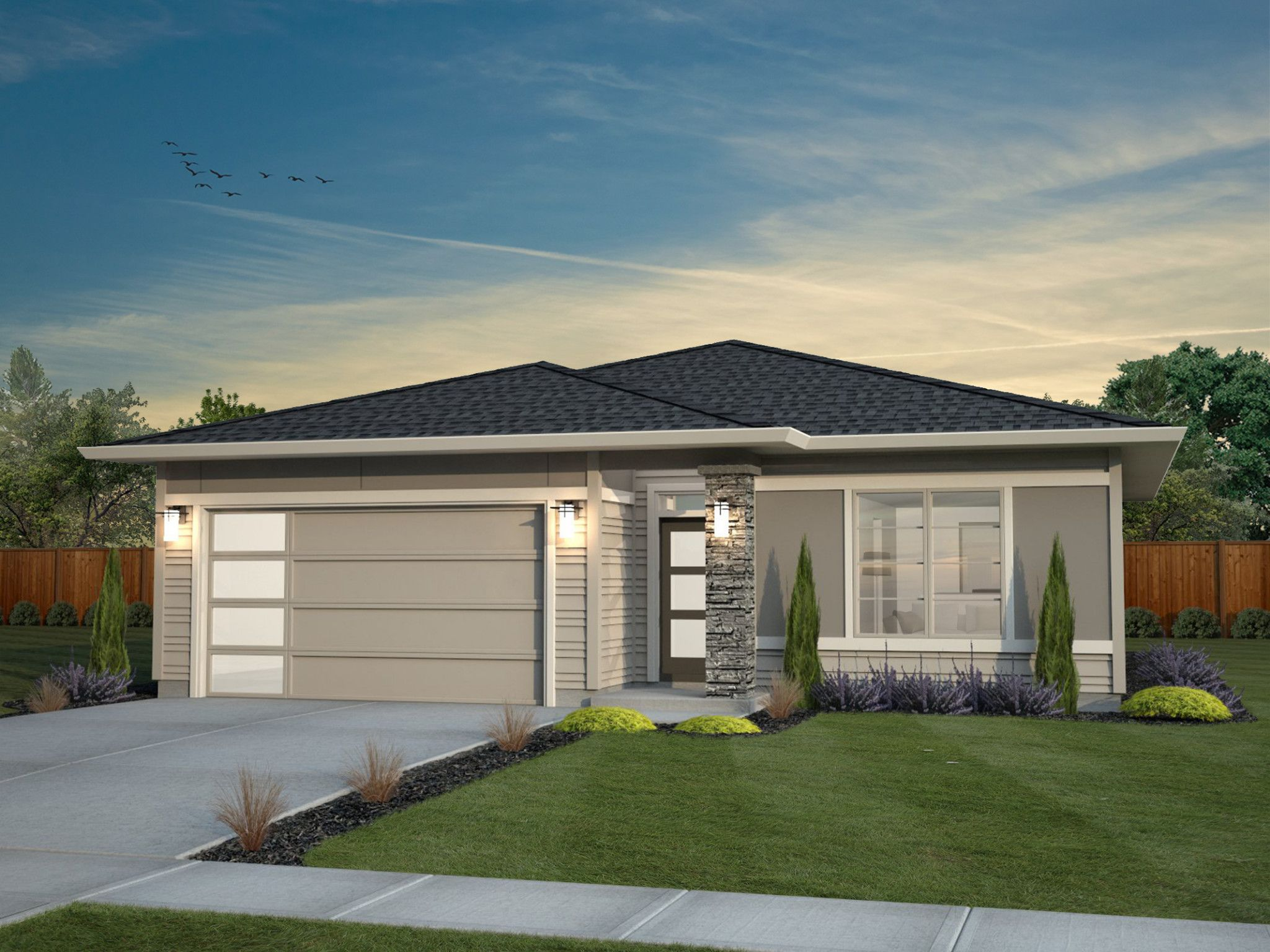 Exterior featured in the Parker By New Tradition Homes in Yakima, WA