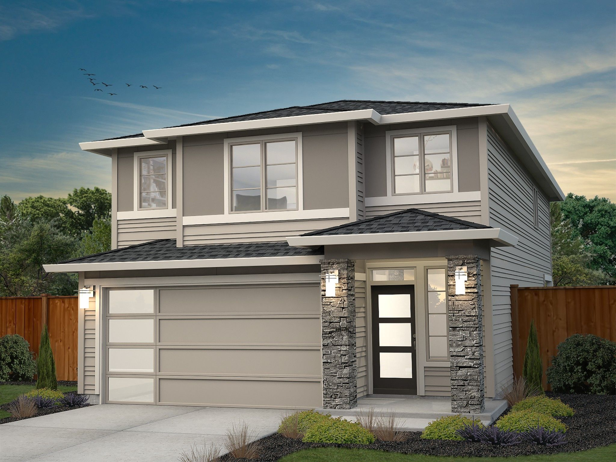Exterior featured in the Pacific By New Tradition Homes in Portland-Vancouver, WA