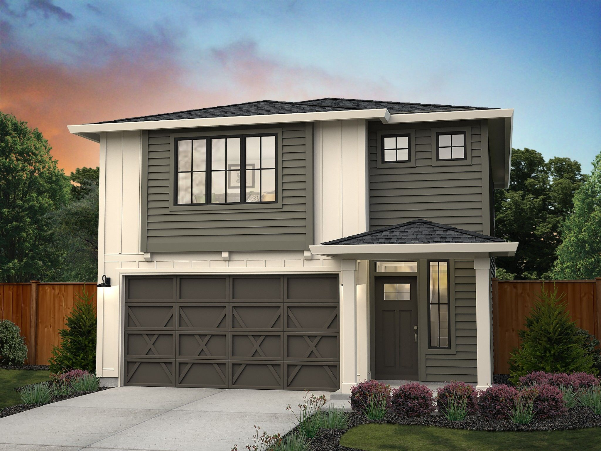Exterior featured in the Redmond By New Tradition Homes in Portland-Vancouver, WA