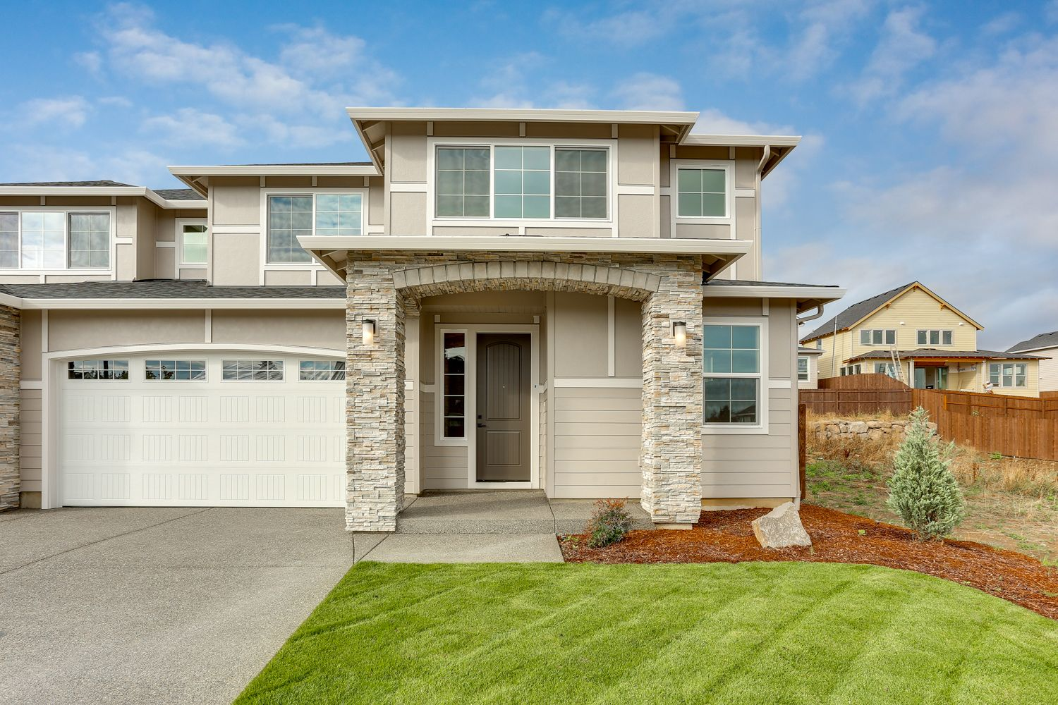Exterior featured in the 4128 S 17TH WAY By New Tradition Homes in Portland-Vancouver, WA
