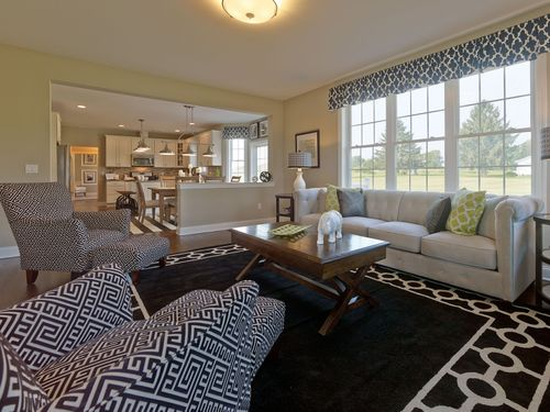 Greatroom-and-Dining-in-Cambridge-at-Sterling Estates-in-Bethlehem