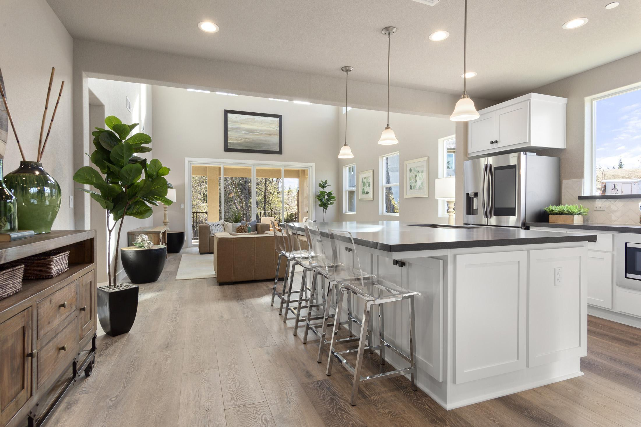 Kitchen featured in the PLAN 2523 By Next Crafted  in Sacramento, CA