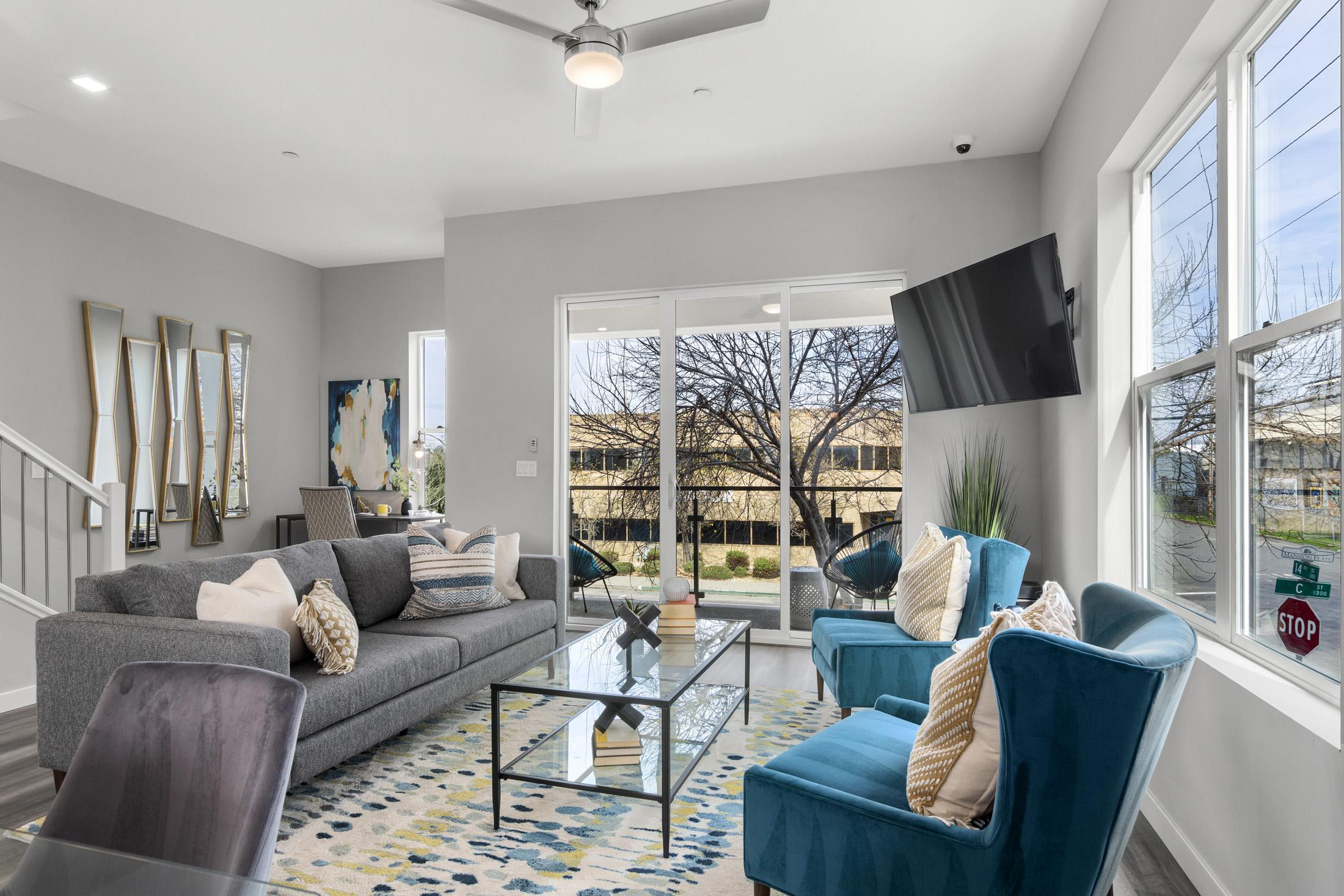 Living Area featured in the Plan 2 By Next Generation Capital  in Sacramento, CA