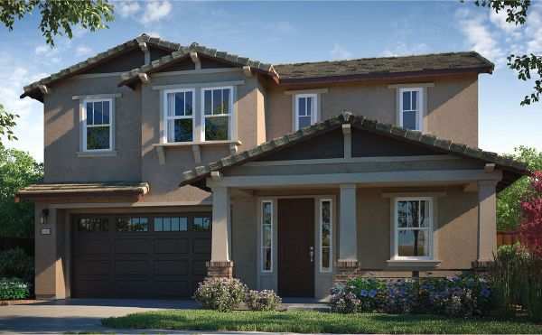 Exterior featured in the Residence 3 By Next New Homes Group in Sacramento, CA
