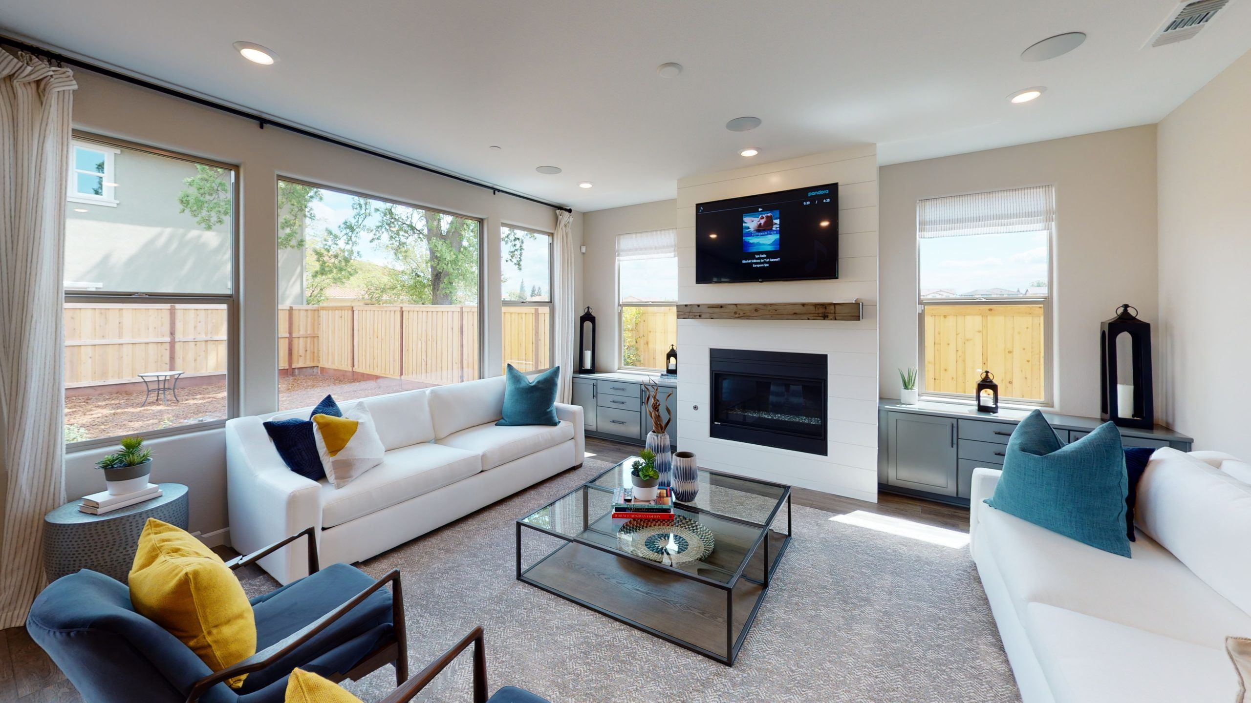 Living Area featured in the Residence 3 By Next New Homes Group in Sacramento, CA