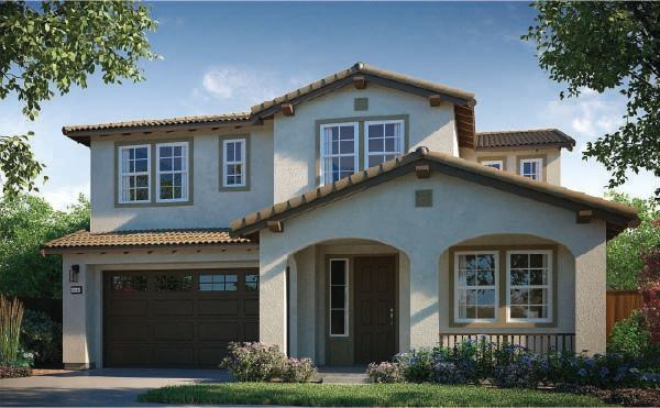 Exterior featured in the Residence 4 By Next New Homes Group in Sacramento, CA