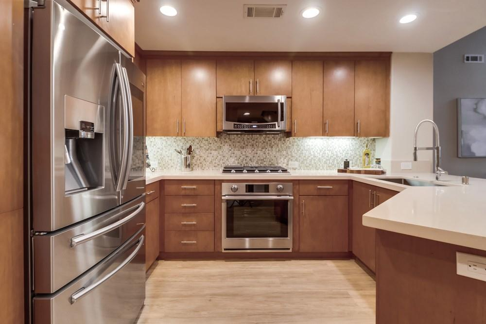 Kitchen featured in the #401 By Next Space Dev - Epic on 5th in San Diego, CA