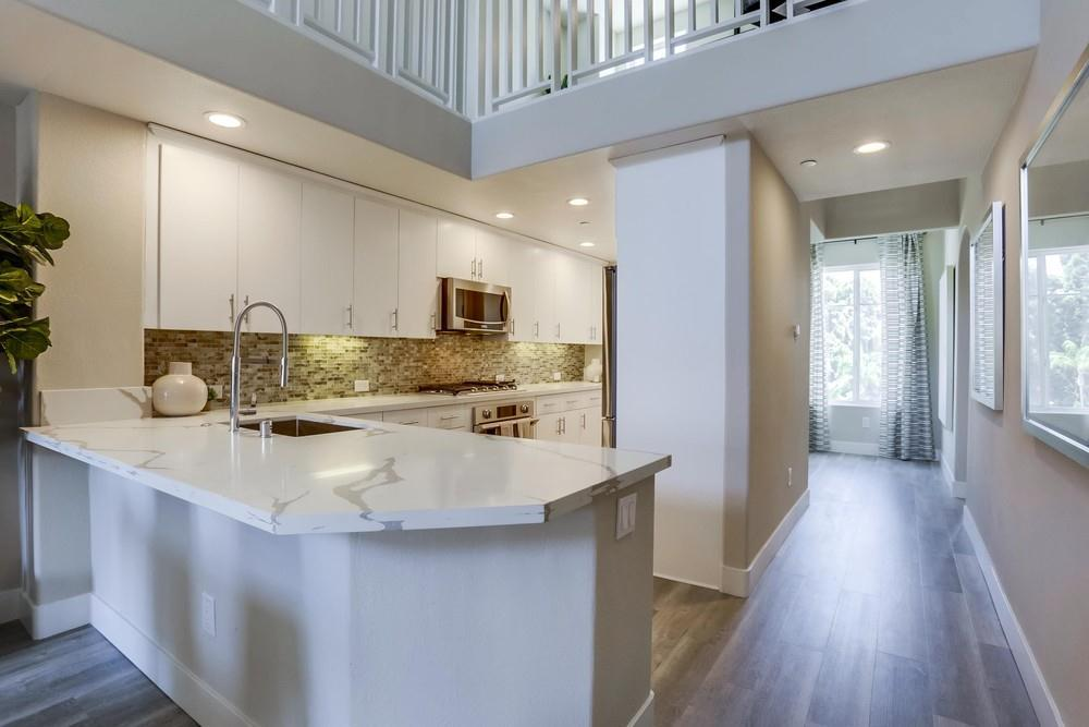 Kitchen featured in the Plan C2 With Loft By Next Space Dev - Epic on 5th in San Diego, CA