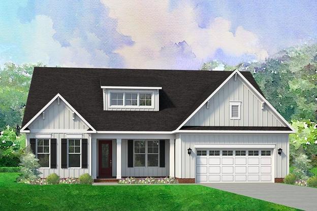 Harper:Elevation B Farmhouse