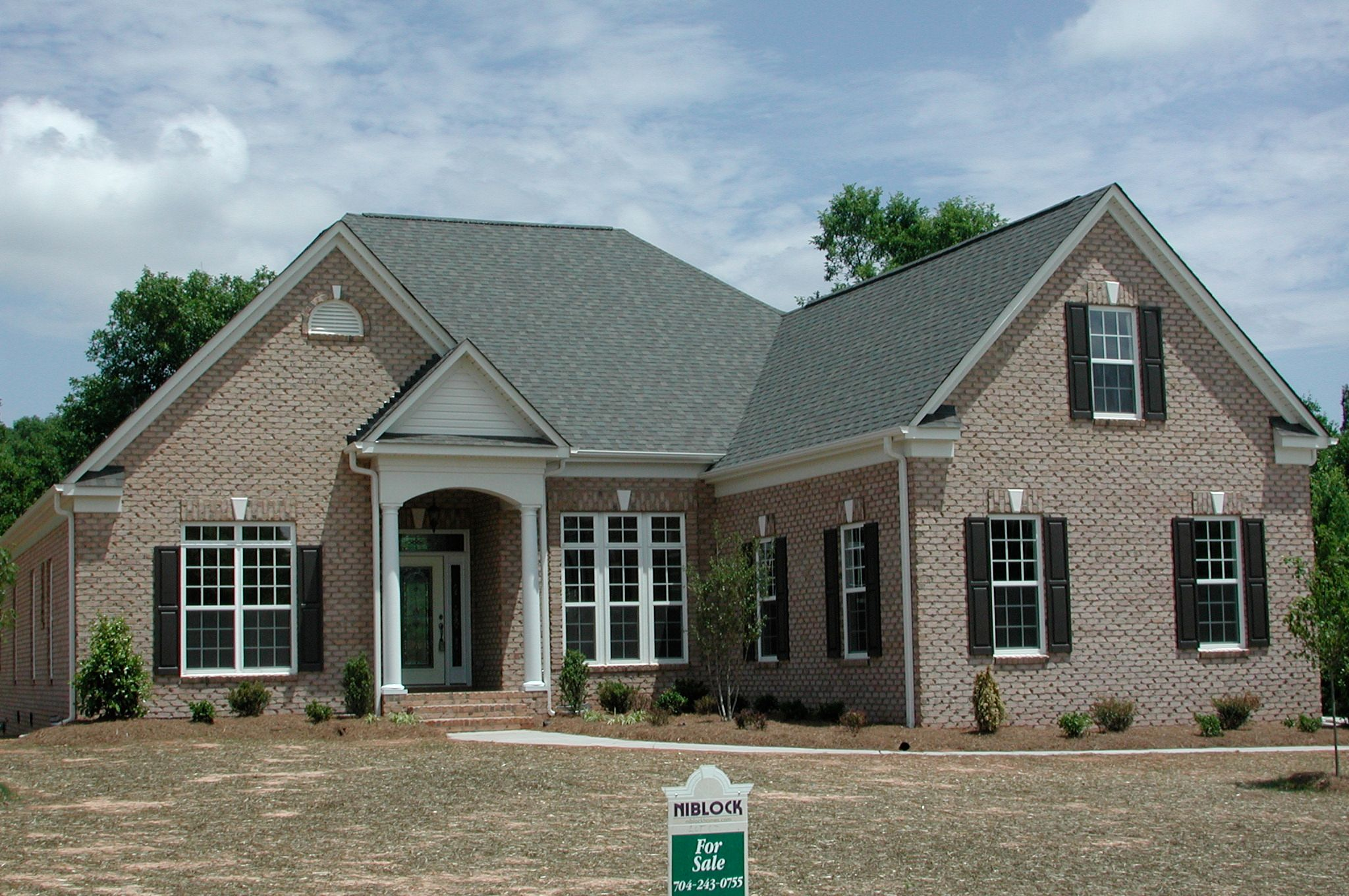 Exterior featured in the Augusta By Niblock Homes in Charlotte, NC