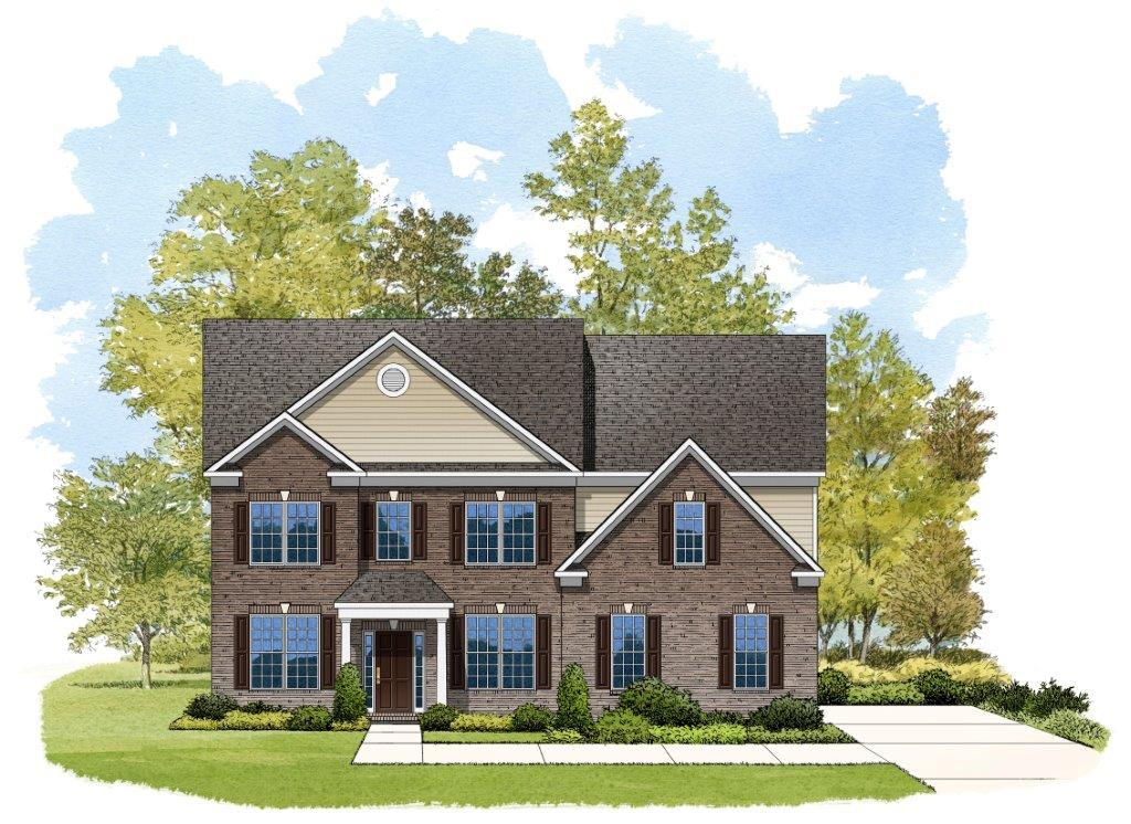 Exterior featured in the Stratford By Niblock Homes in Charlotte, NC