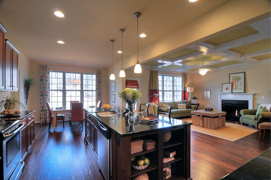 Living Area featured in the Aspen By Niblock Homes in Charlotte, NC