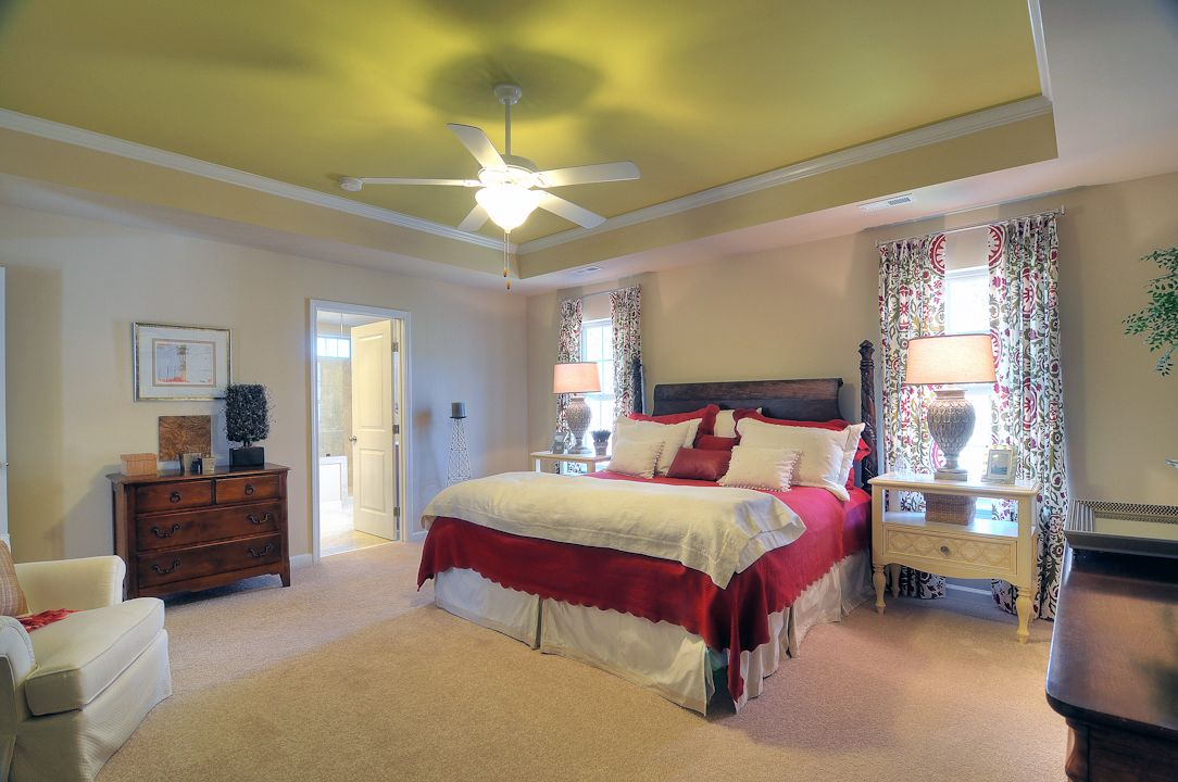 Bedroom featured in the Aspen By Niblock Homes in Charlotte, NC
