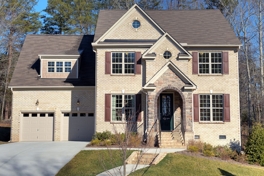 Exterior featured in the Aspen By Niblock Homes in Charlotte, NC