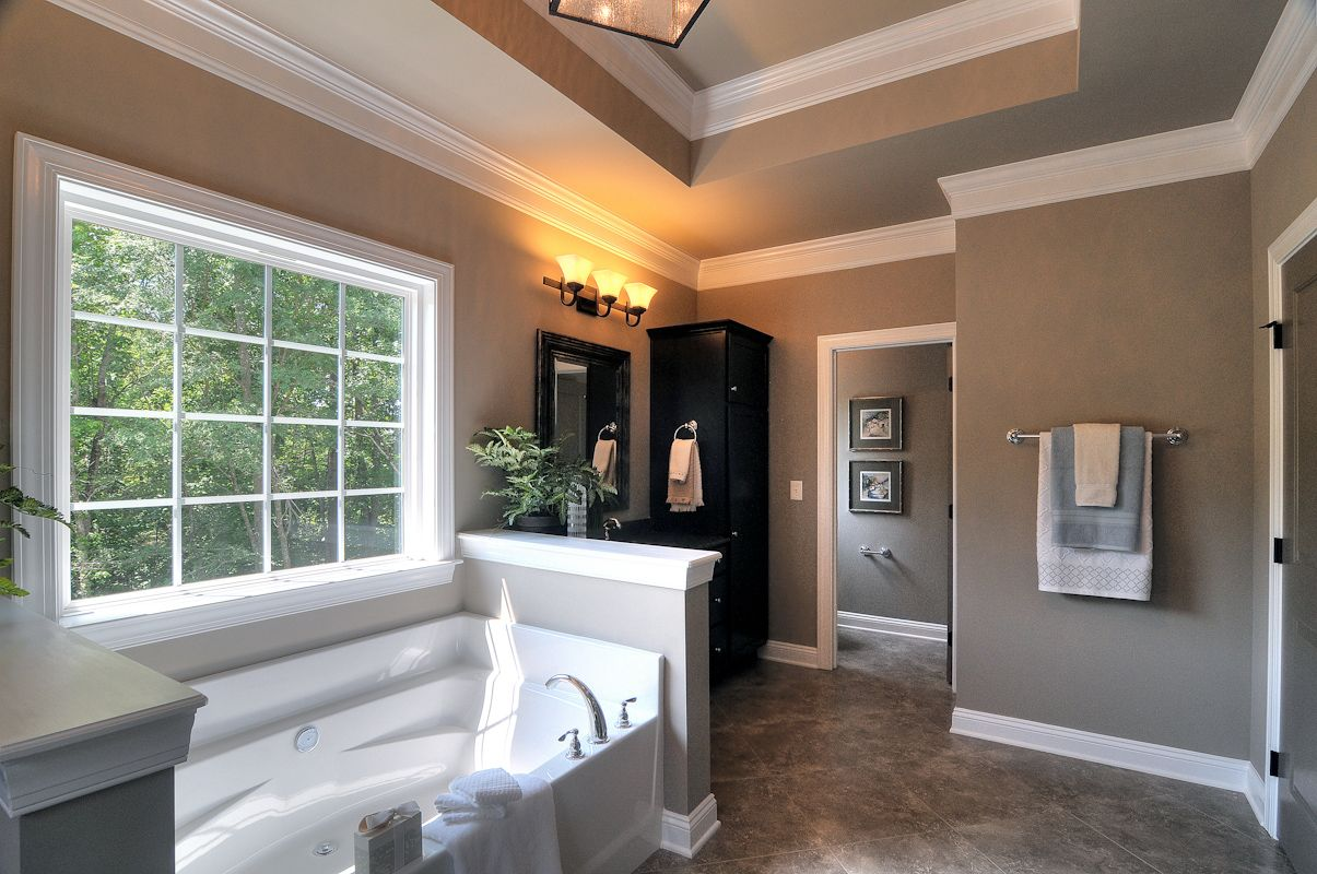 Bathroom featured in the Arlington By Niblock Homes in Charlotte, NC