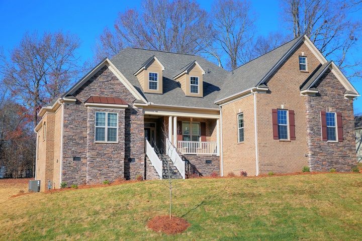 Exterior featured in the Columbia By Niblock Homes in Charlotte, NC