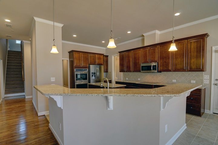 Kitchen featured in the Columbia By Niblock Homes in Charlotte, NC