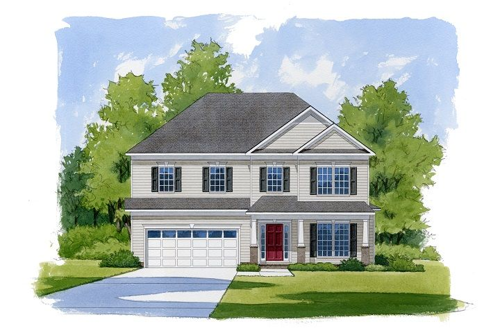 Exterior featured in the Hayworth By Niblock Homes in Charlotte, NC