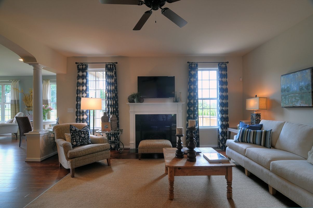 Living Area featured in the Stratford By Niblock Homes in Charlotte, NC