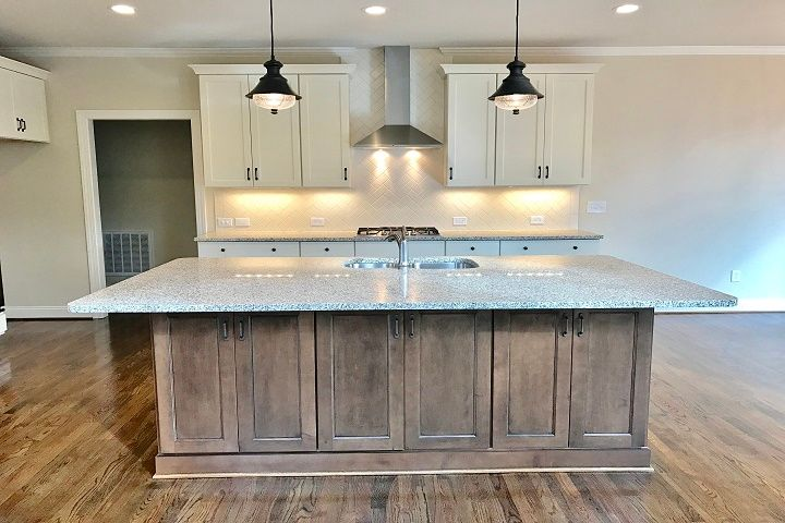 Kitchen featured in the Caldwell  By Niblock Homes in Charlotte, NC