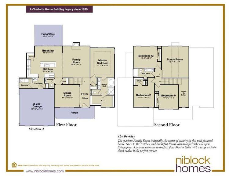 The Berkley Floor Plan