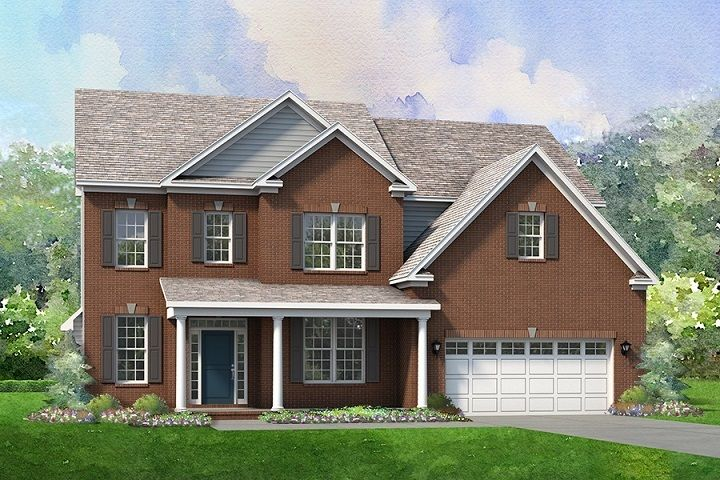 Exterior featured in the Newport By Niblock Homes in Charlotte, NC