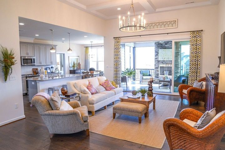 Living Area featured in the Dunhill By Niblock Homes in Charlotte, NC