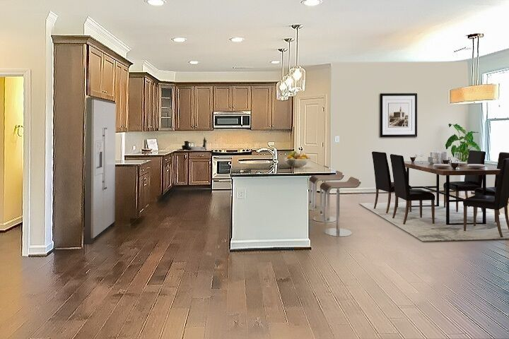 Kitchen featured in the Berkley By Niblock Homes in Charlotte, NC