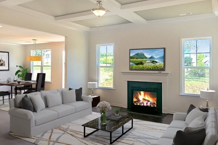 Living Area featured in the Berkley By Niblock Homes in Charlotte, NC