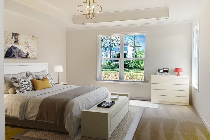 Bedroom featured in the Berkley By Niblock Homes in Charlotte, NC