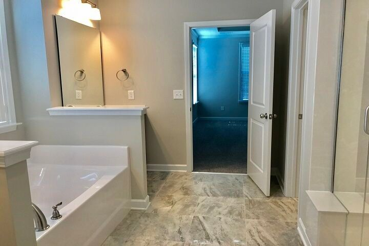 Bathroom featured in the Berkley By Niblock Homes in Charlotte, NC