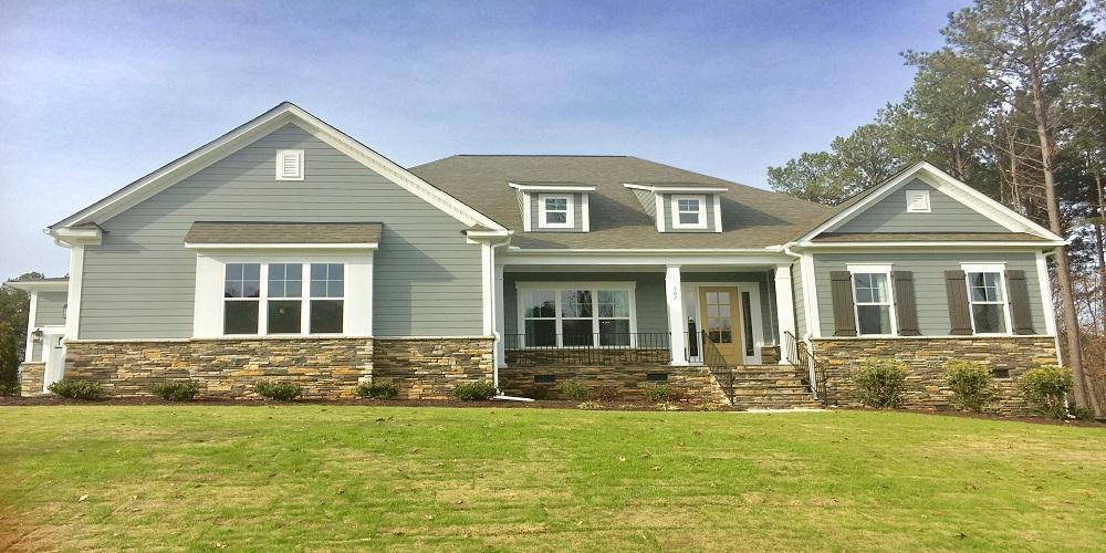 Exterior featured in the Grayson By Niblock Homes in Charlotte, NC