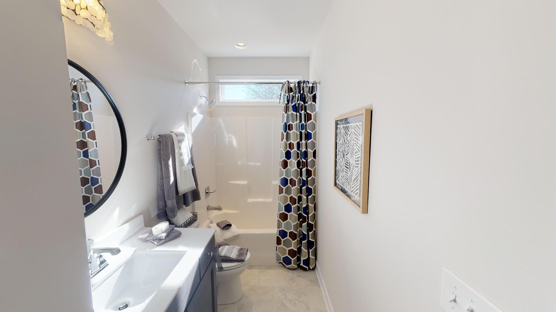 Bathroom featured in the Harper  By Niblock Homes in Charlotte, NC