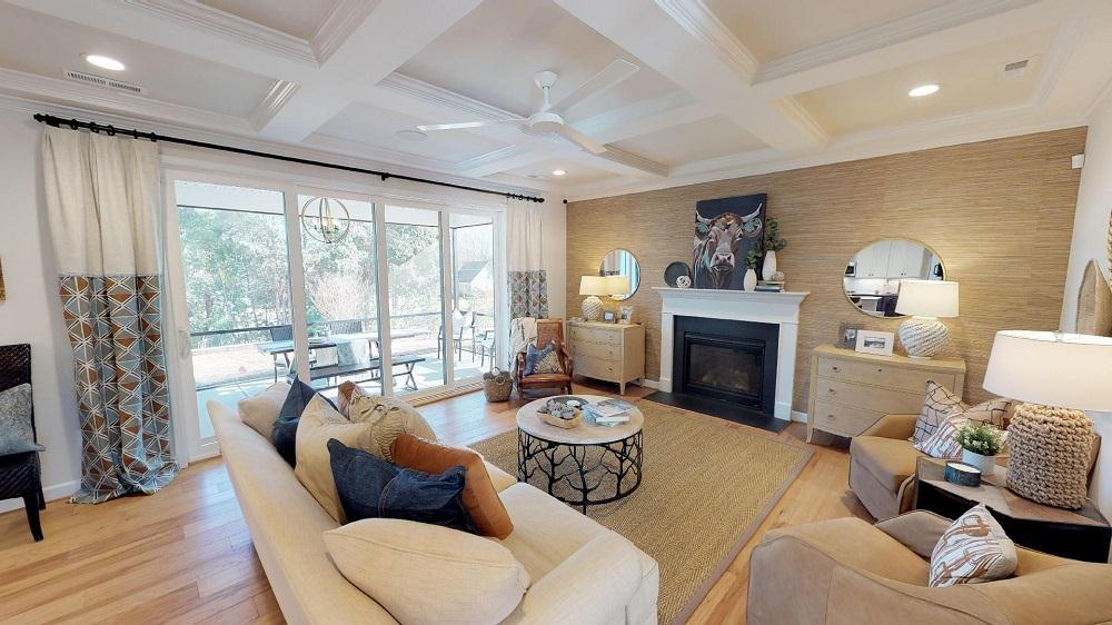 Living Area featured in the Harper  By Niblock Homes in Charlotte, NC