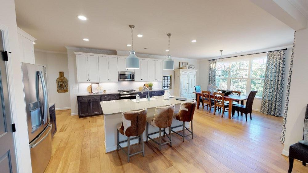 Kitchen featured in the Harper  By Niblock Homes in Charlotte, NC