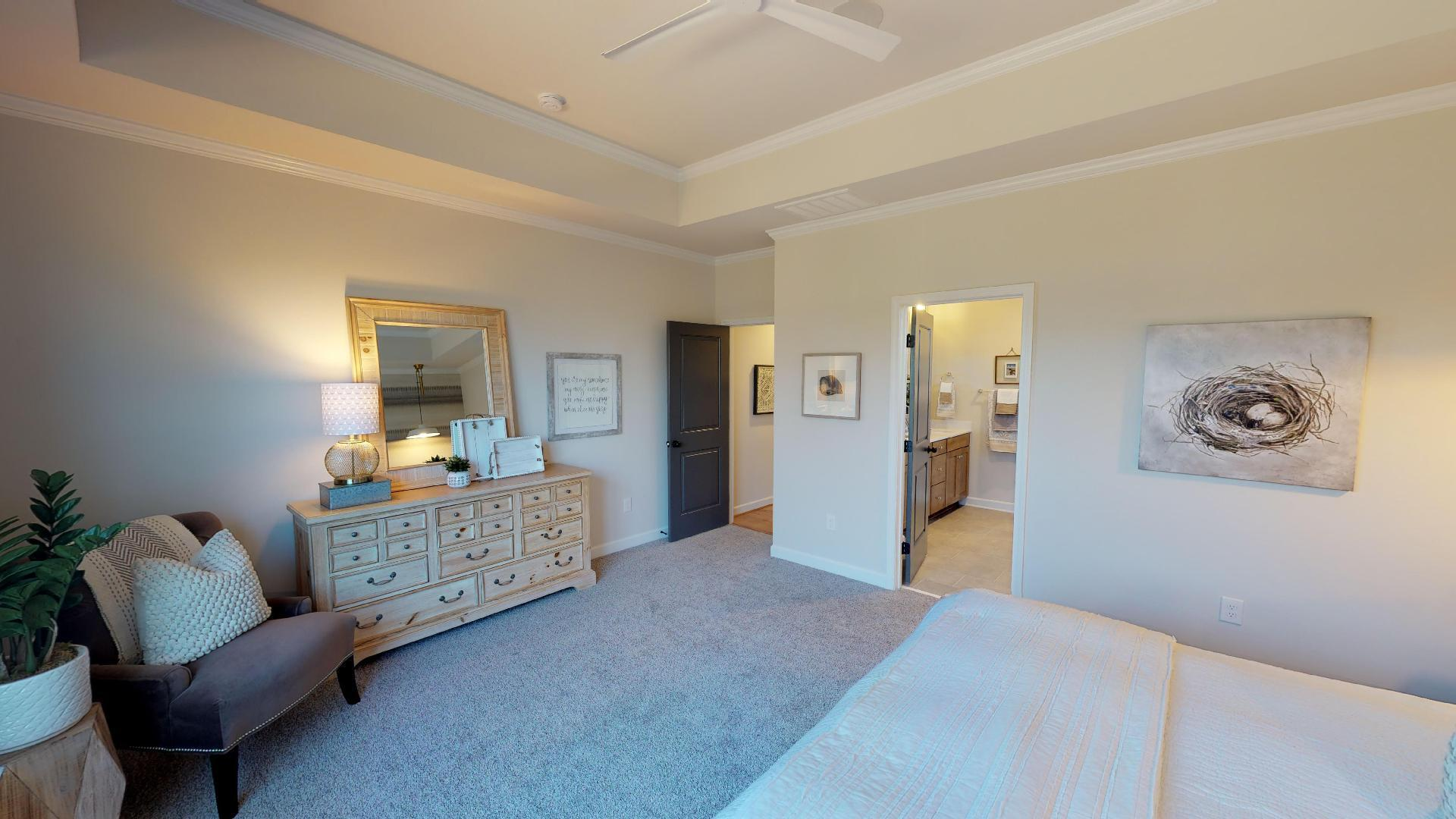 Bedroom featured in the Harper  By Niblock Homes in Charlotte, NC