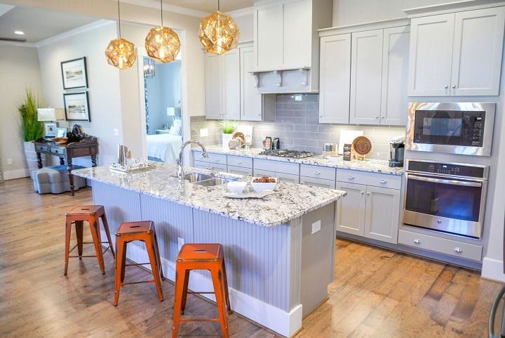 Kitchen featured in the Woodhaven By Niblock Homes in Charlotte, NC