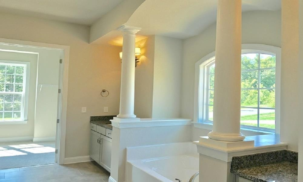 Bathroom featured in the Columbia By Niblock Homes in Charlotte, NC