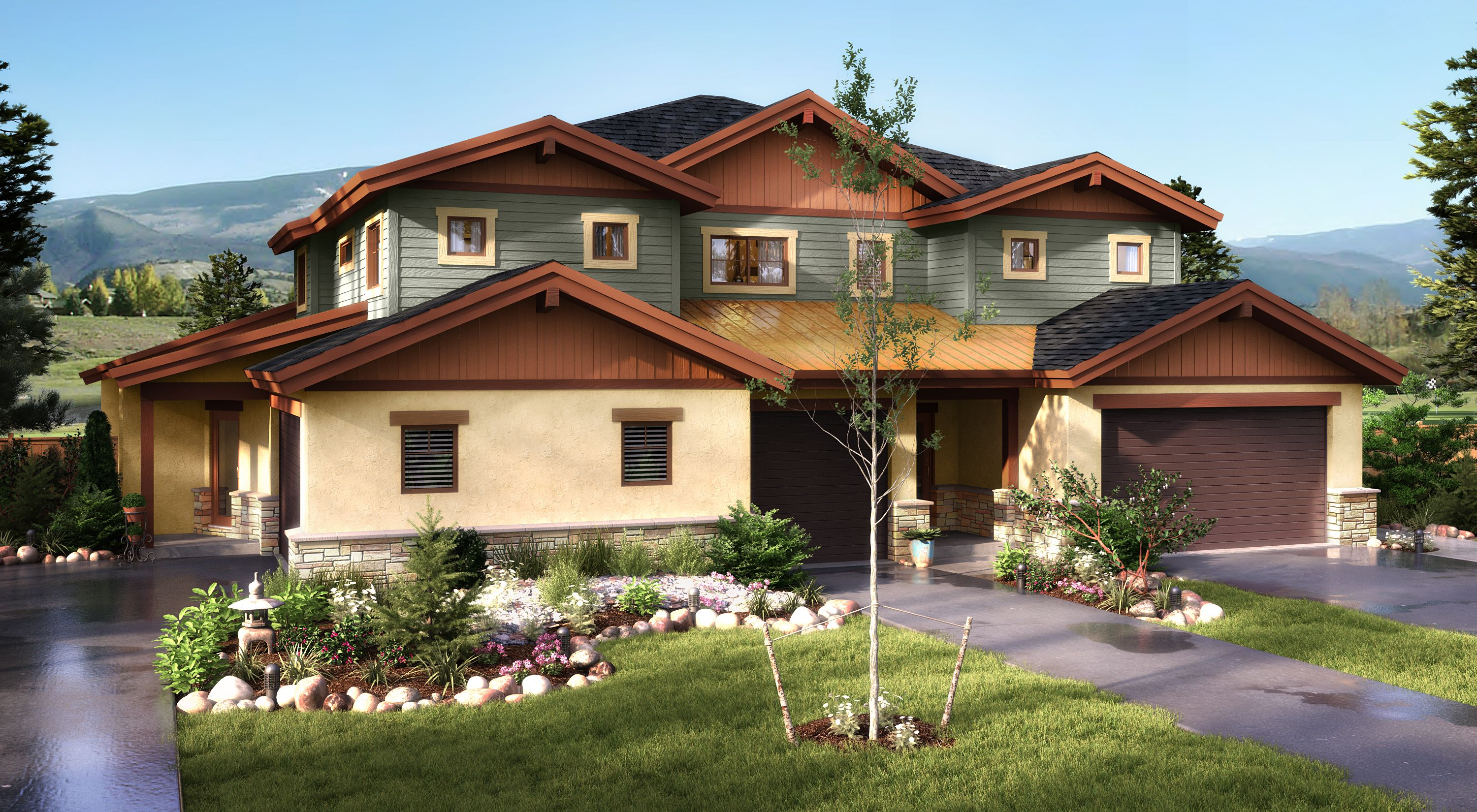 New home construction plans in summit rocky mountains for Summit county home builders