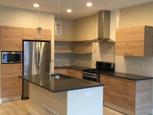 Kitchen-in-Duplex Phase 3-at-The Villas at Cotton Ranch-in-Gypsum