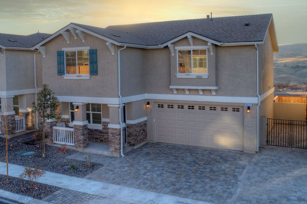 Exterior featured in the Peavine Mountain 2C By Northern Nevada Homes in Reno, NV