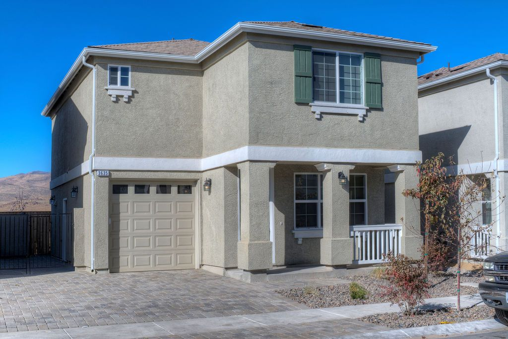 Exterior featured in the Peavine Mountain 1C By Northern Nevada Homes in Reno, NV