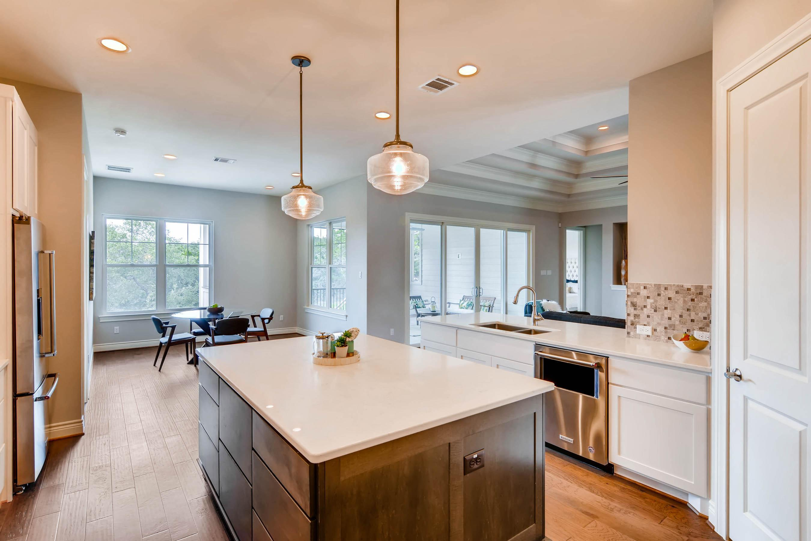 Kitchen featured in the Floorplan 2265 By Novak Brothers  in Austin, TX