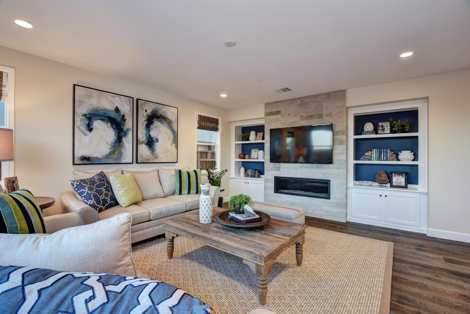 Living Area featured in the Residence 4 By Nuvera Homes in Oakland-Alameda, CA