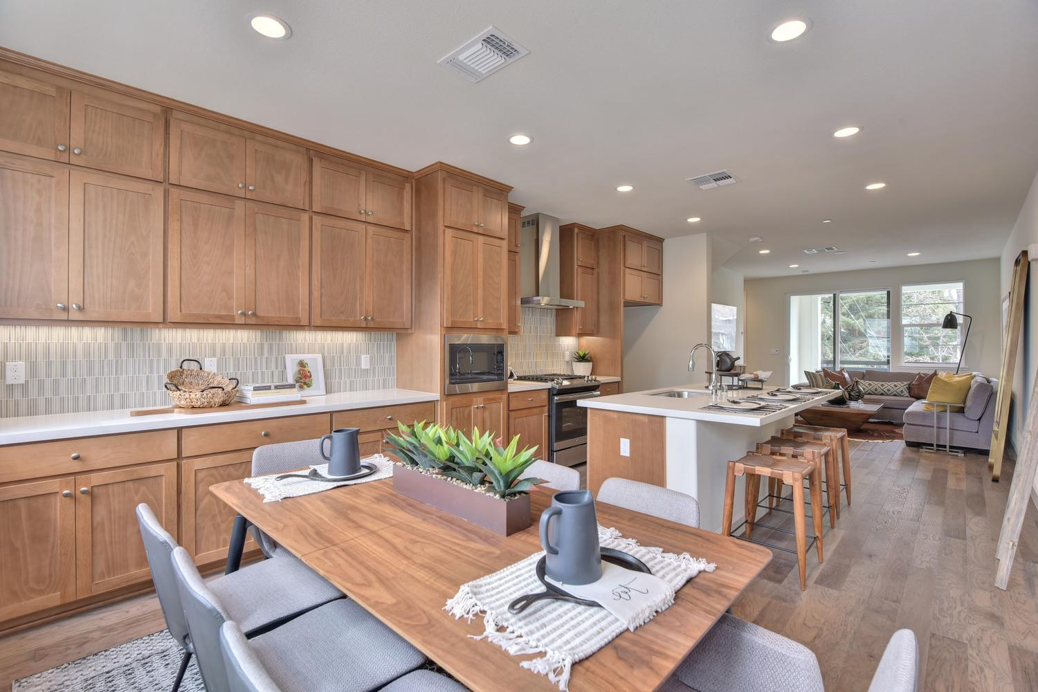 Kitchen featured in the Residence 1 By Nuvera Homes in Oakland-Alameda, CA