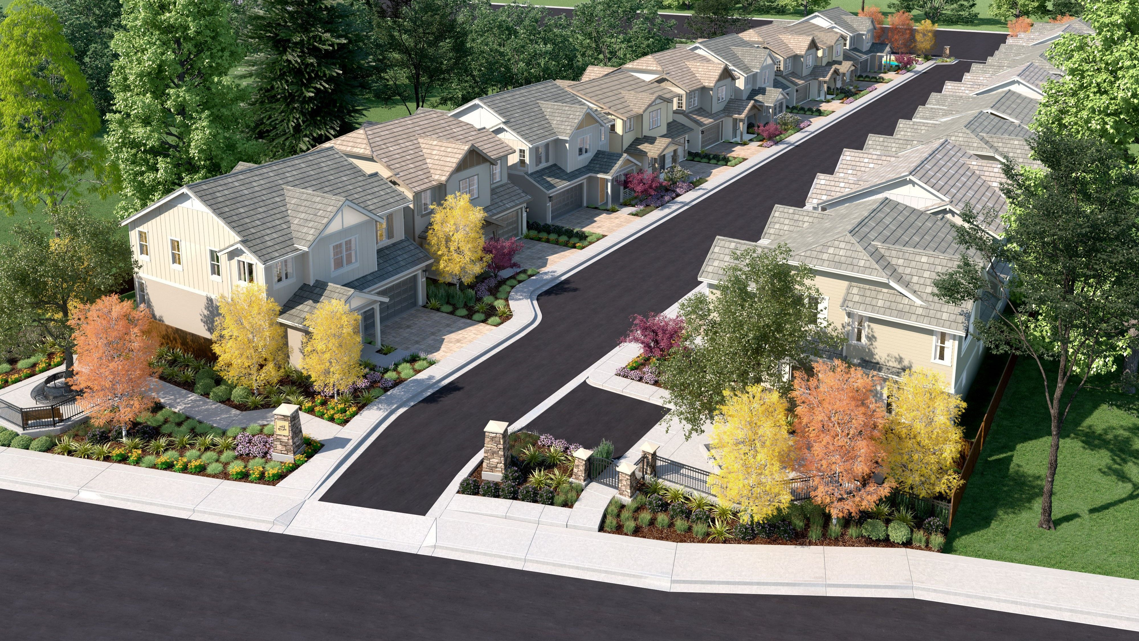 'The Parks at Bridge Pointe' by Nuvera Homes in Oakland-Alameda