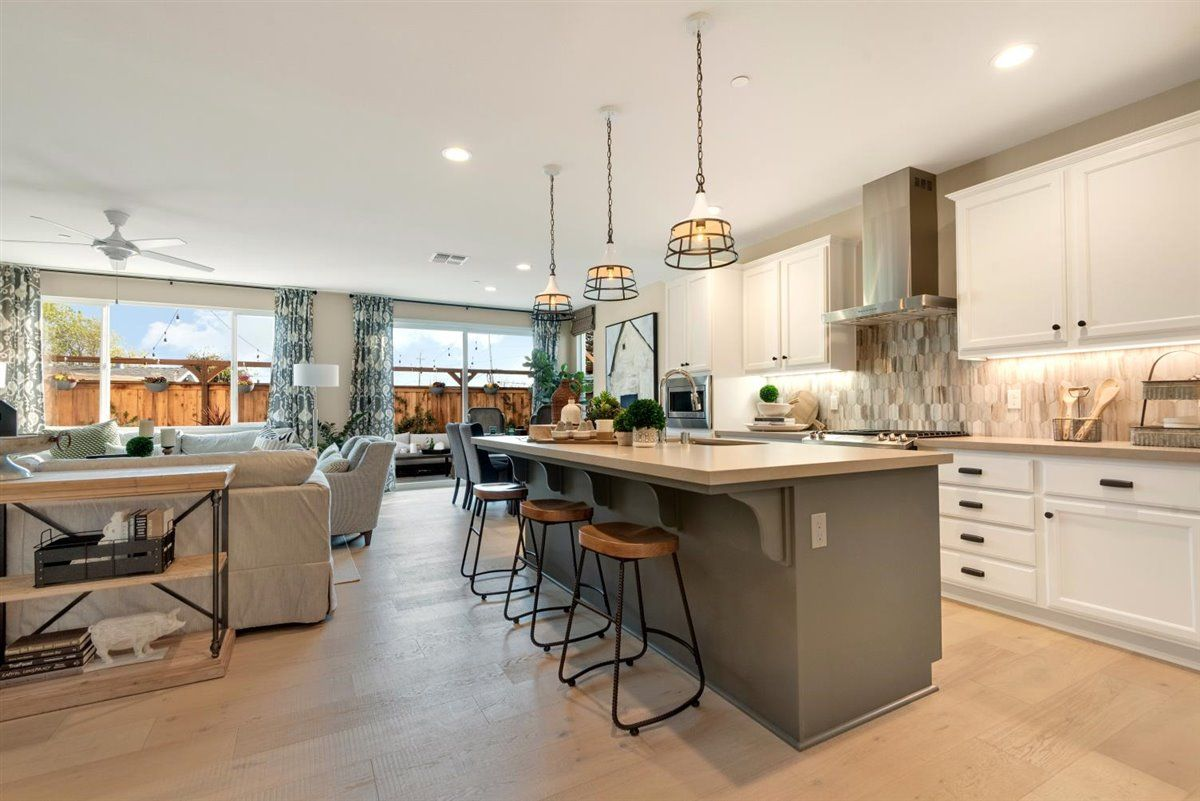 Kitchen featured in the Sequoia By Nuvera Homes in Oakland-Alameda, CA