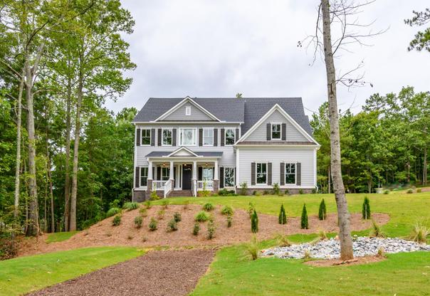 The Westport. Actual Home. New Construction.