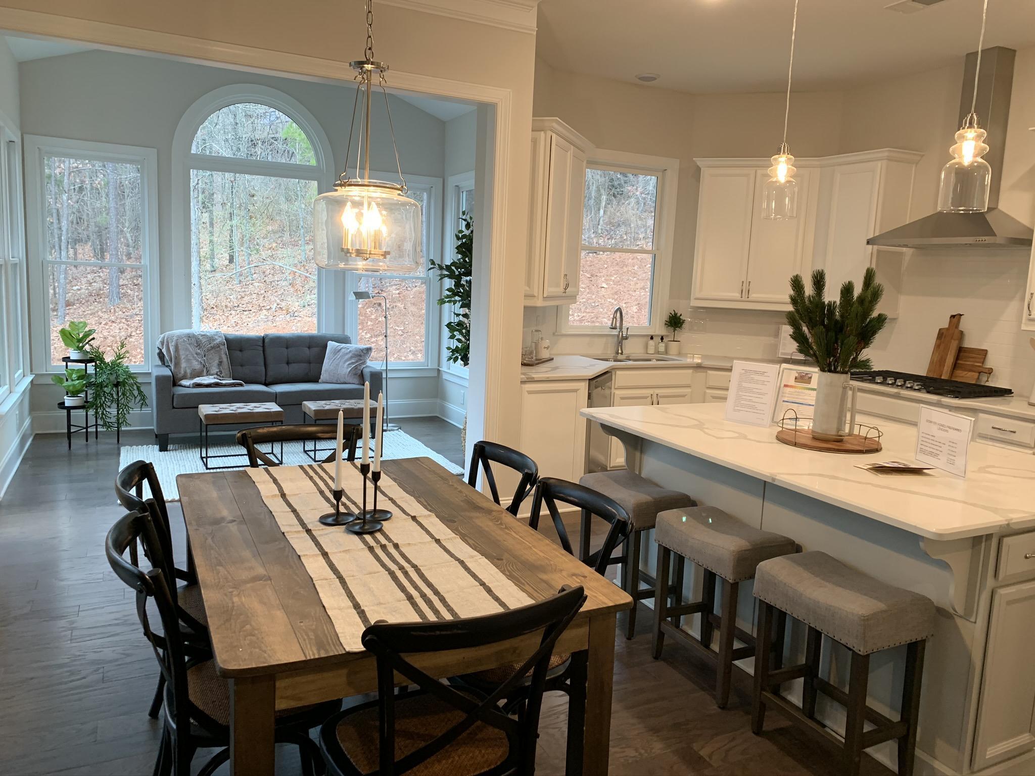 Kitchen featured in The Garrett By O'Dwyer Homes in Atlanta, GA